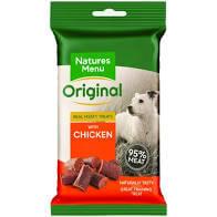 Natures Dogs Menu 95% Meat Training Treats