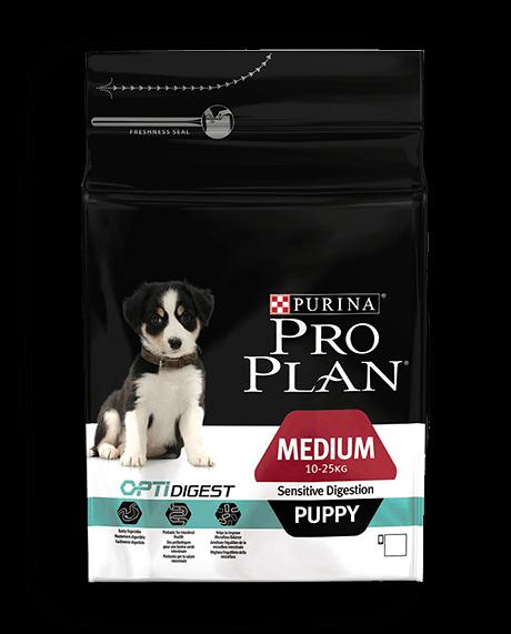 PURINA® PRO PLAN® DOG Medium Puppy - Sensitive Digestion with OPTIDIGEST™ - 12Kg