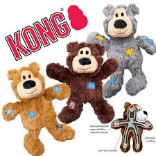 Bestseller Kong Wild Knots Bear Dog Toy - Medium