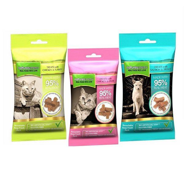 Natures Menu Cat Treats - Chicken & Liver