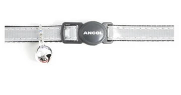 Ancol Silver Reflective Cat Collar
