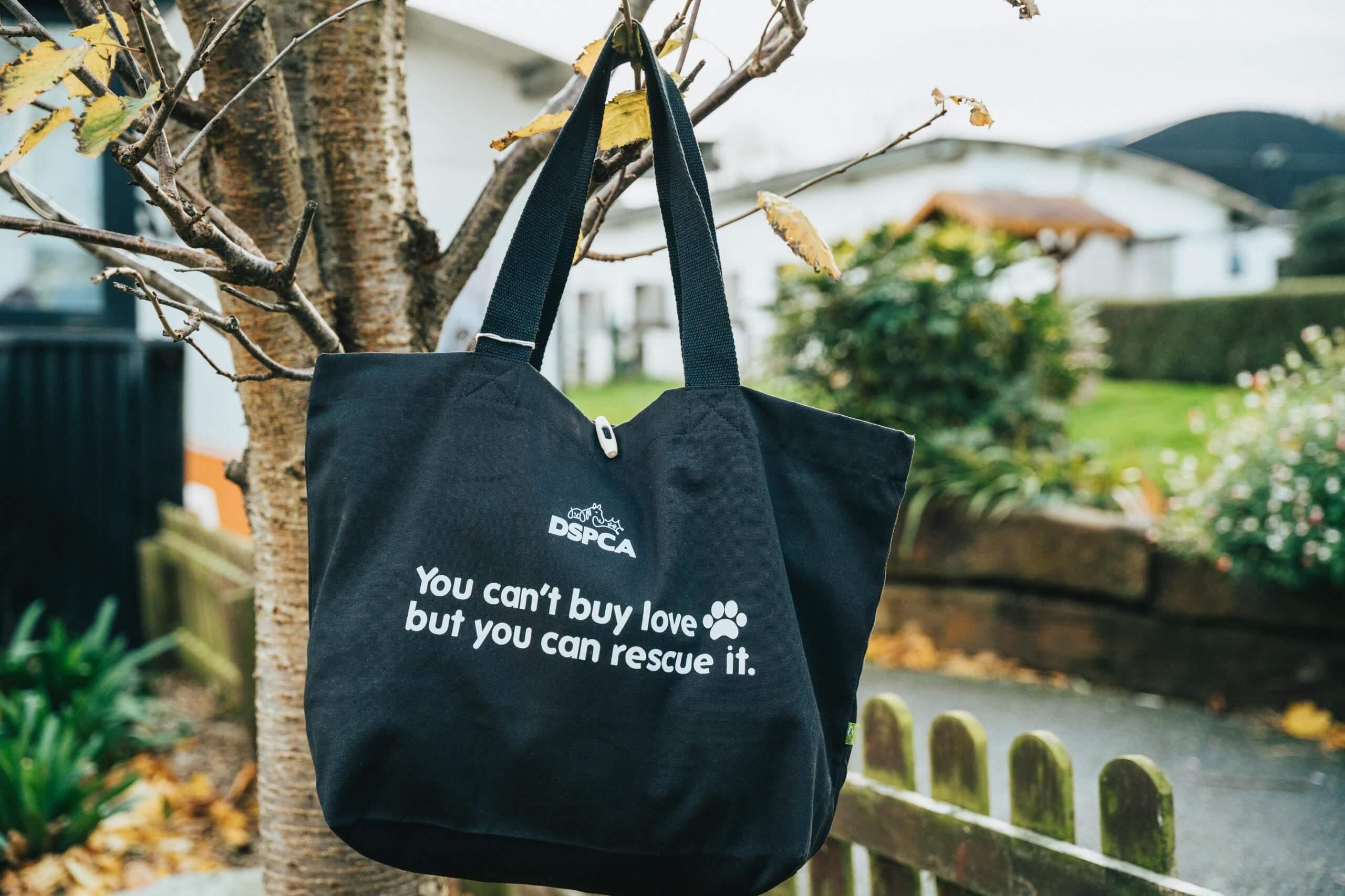 DSPCA Organic Cotton Shopper Bag