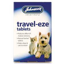 Travel Sickness Tablets for Pets
