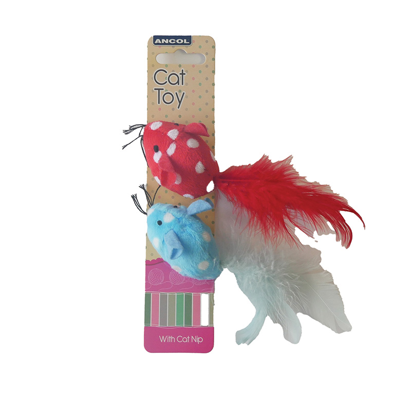 Mouse Cat Toys - Pack of 2