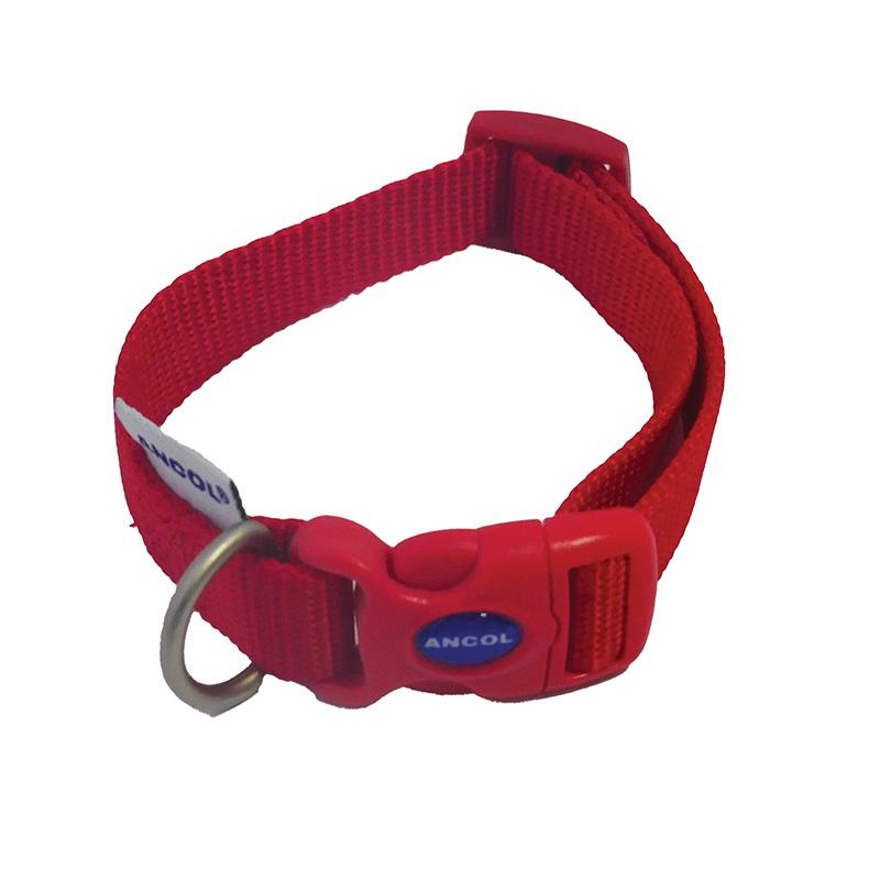 Ancol Dog Collar Red