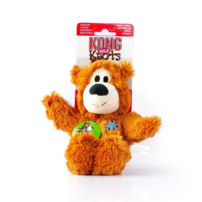 Kong Wild Knots Bear Dog Toy