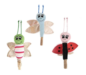 Ancol Catnip Butterfly Wand Cat Toy